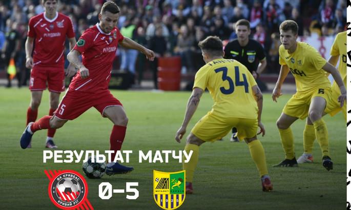 Кривбас - Металіст 0:5. Огляд матчу і відео голів