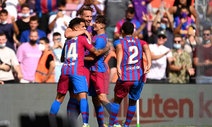 Прімера. Барселона - Леванте 3:0. Без Кумана набагато краще, ніж з ним