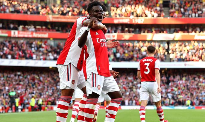Сака оформил 20 ассистов с начала прошлого сезона - больше всех в Арсенале