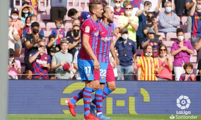 Голы де Йонга и Фати. Барселона - Леванте 3:0. Видео голов и обзор матча