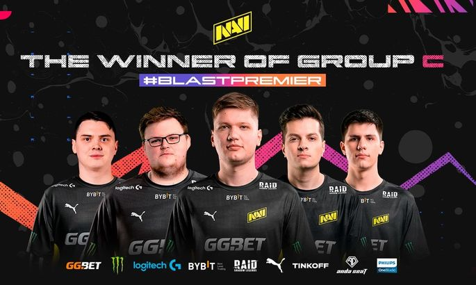NaVi заняли первое место в групе на BLAST Premier: Fall Groups 2021