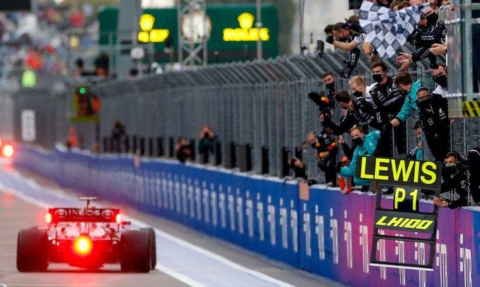 Формула-1: Хэмилтон в борьбе за титул на 2 очка опережает Ферстаппена