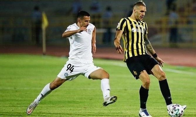 Хлебас забил дебютный гол в чемпионате Казахстана