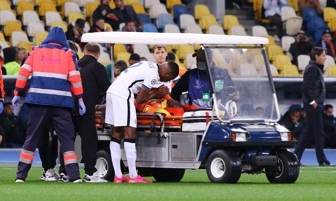 Траоре получил травму в самом начале матча с Интером
