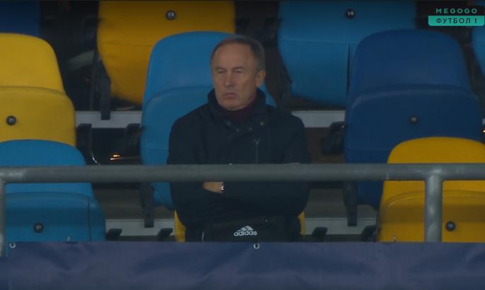Петраков, Беленюк и Усик посетили матч Шахтер - Интер