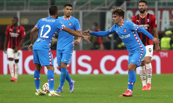 Гризманн впервые после возвращения забивает за матрасов. Милан - Атлетико 1:2. Обзор матча, видео голов
