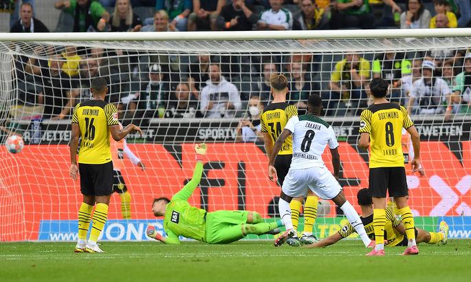 Без Холанда справились. Боруссия Д - Спортинг 1:0. Обзор матча и видео гола