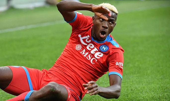 Осимхен из Наполи заинтересовал топ-клубы. У него 6 голов в 6 матчах этого сезона