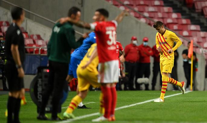 Так опускаются ко дну. Бенфика – Барселона 3:0. Обзор матча и видео голов