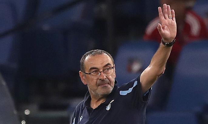 Маурицио Сарри жалеет, что Лацио забил в ворота Локомотива всего два гола