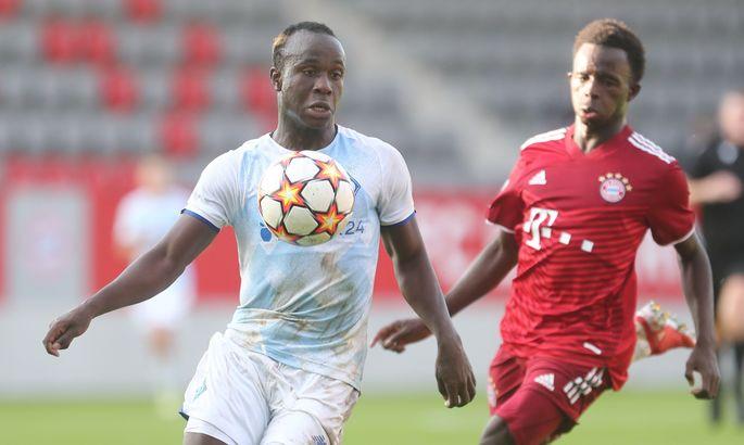 Двое игроков Динамо - в сборной 2-го тура Юношеской лиги УЕФА