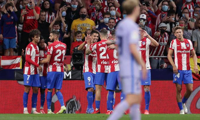 Примера. Атлетико - Барселона 2:0. Квинтэссенция беспомощности