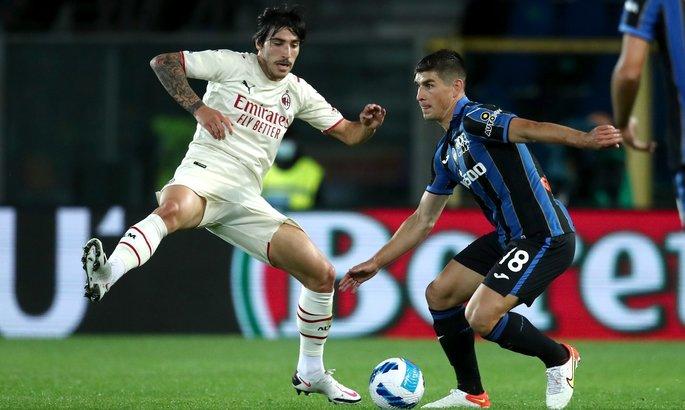 Малиновский - лучший игрок Аталанты в матче с Миланом по версии SofaScore