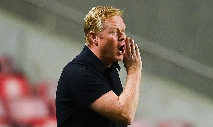 Лапорта запретил Куману общаться с прессой в Нидерландах – Рональд заявил, что Жоан ни при чем