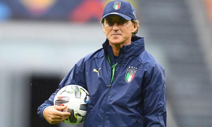 Манчини: Нужно обыграть Бельгию, чтобы улучшить положение Италии в рейтинге ФИФА