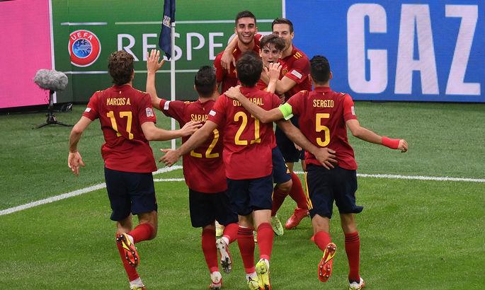 Лига Наций. Италия - Испания 1:2. Отомстили за Евро и пробились в финал