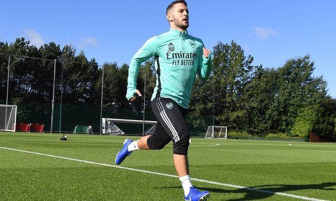 Джек Уилшир тренируется с лондонским Арсеналом