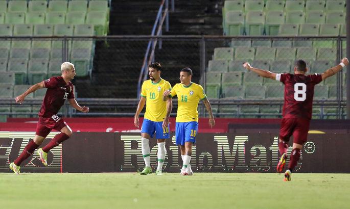 Форвард Динамо забил сборной Бразилии в матче отбора к ЧМ-2022