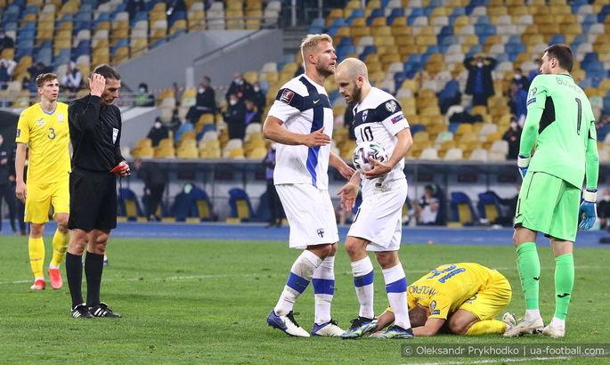 Финляндия - Украина. Анонс и прогноз матча отбора к ЧМ-2022 на 09.10.2021