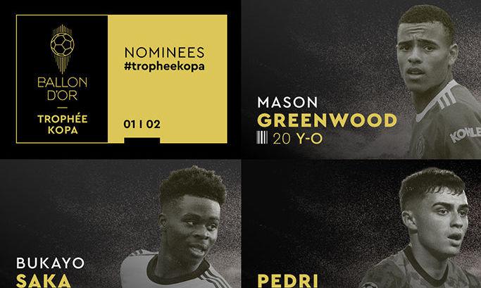 Педри, Мусиала, Беллингем и Рейна среди претендентов на лучшего молодого игрока от France Football