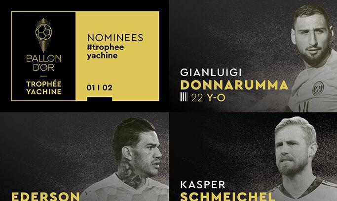 У ПСЖ 2 из 10 лучших вратарей в мире – France Football объявил номинантов на приз имени Льва Яшина
