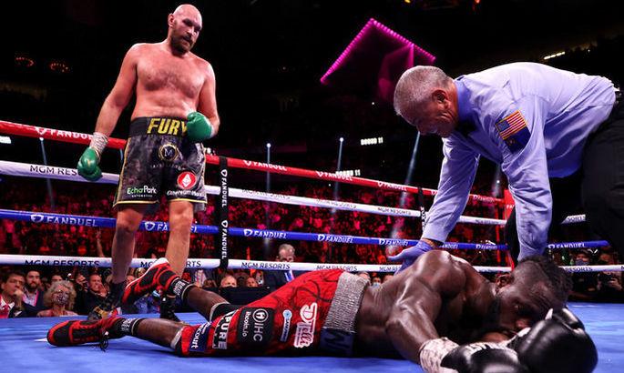 Уайлдер провел лучший бой в карьере, но Фьюри был на другом уровне