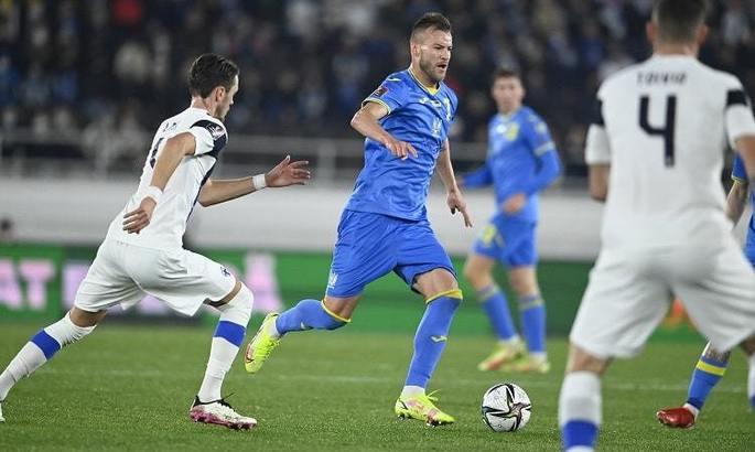 Ярмоленко забивает уже 5 матчей подряд за сборную во Львове