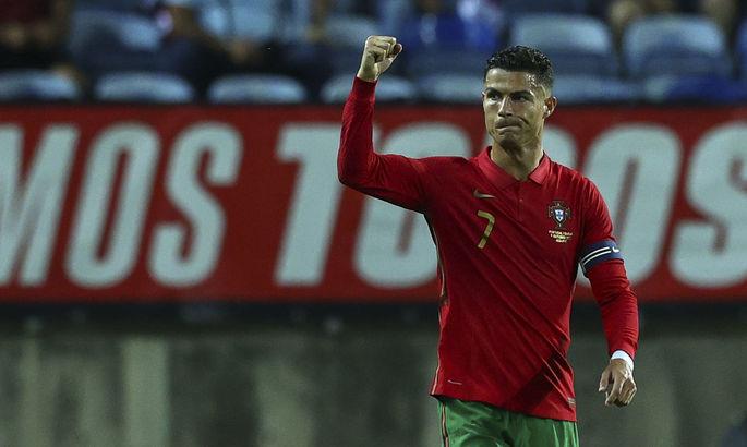 Роналду умело бьет пенальти. Португалия - Люксембург 5:0. Видео голов и обзор матча