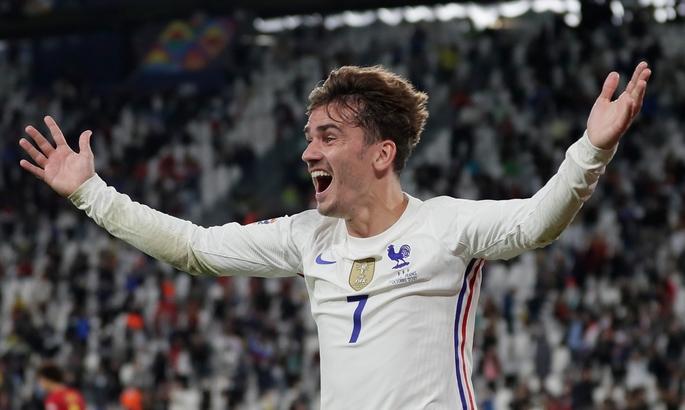 Гризманн - 9-й в истории Франции, кто сыграл 100 матчей за сборную