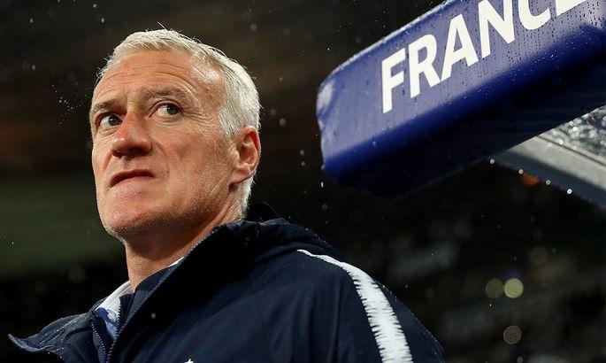 Дешам - о победе в Лиге наций: Игроки сборной Франции - бойцы, как и я