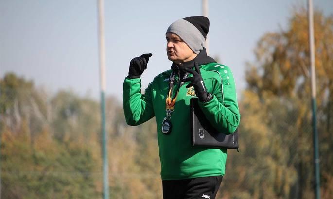 Тернопольская Нива представила нового главного тренера