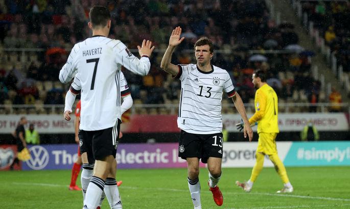 Северная Македония –Германия 0:4. Вернер и Хавертц забронировали бундестим путёвку на мундиаль