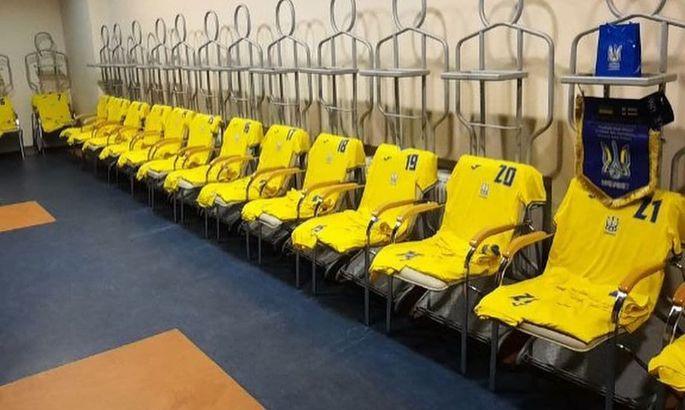 Те же 11, что и на матч с финнами. Стартовые составы на матч Украина - Босния