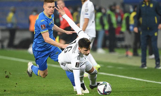 1:1. Украина пропускает в конце матча с Боснией –Видео