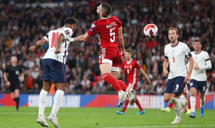 Англия - Венгрия 1:1. Ленивые львы