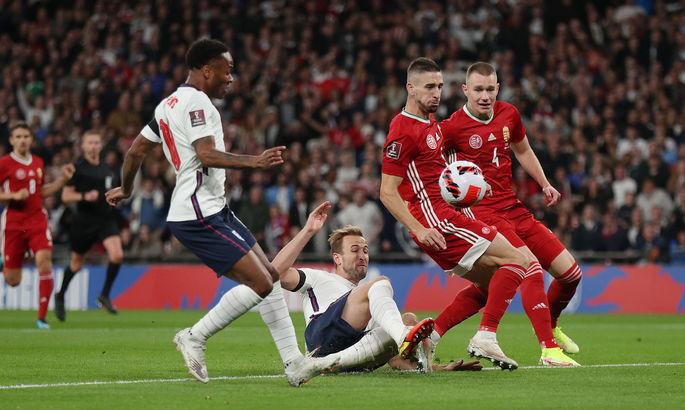Англия - Венгрия 1:1. Видео голов и обзор матча