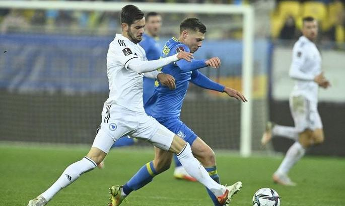 Определен лучший игрок в составе Украины против Боснии по версии SofaScore