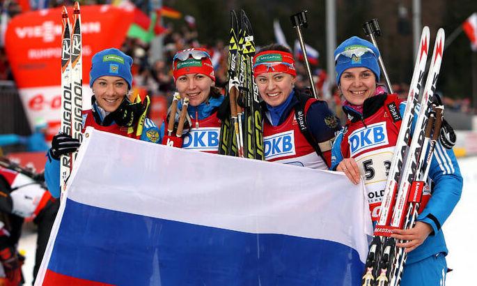 У российских биатлонисток отобрали серебро Олимпиады-2014. Ту гонку выиграла Украина
