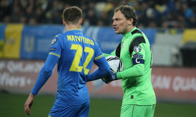 Герой футбольного дня. Николай Матвиенко. Статистически лучший игрок Украины в матче с Боснией