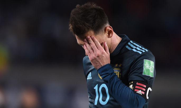 Месси – о судействе матча Аргентины: Каждый раз этот арбитр делает одно и то же. Кажется, он специально