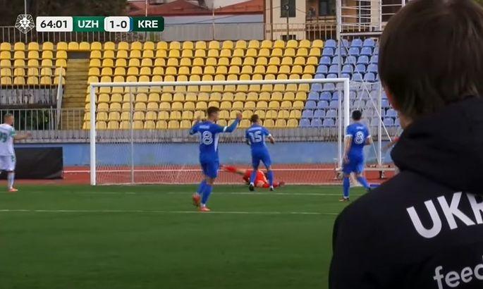 Игрок Кремня Бойко: Я не радовался голу Ужгорода. Я поднимаю руки вверх и дальше злюсь