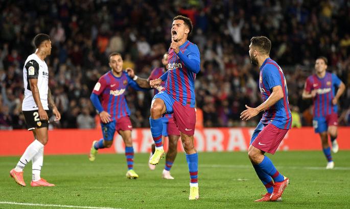 Динамо приготовиться. Барселона - Валенсия 3:1. Видео голов и обзор матча