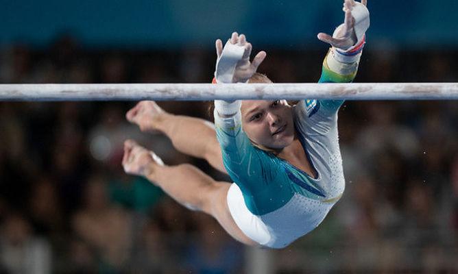 Две украинских гимнастки вышли в финал чемпионата мира в Японии
