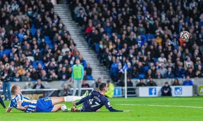 Реализация на уровне. Брайтон - Манчестер Сити 1:4. Видео голов и обзор матча