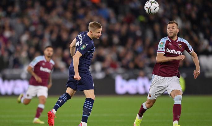 Вест Хэм выбил Манчестер Сити из Кубка английской лиги в серии пенальти
